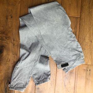 Joe's Jeans Jegging Ankle Zipper Acid Wash Size S
